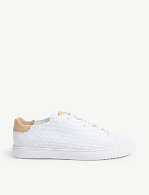 REISS Bradley knitted trainers