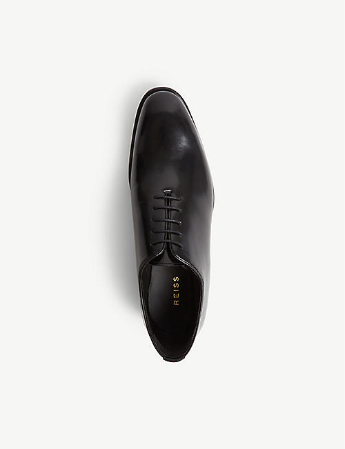 REISS Lucas leather shoes