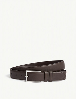 REISS Martin leather belt