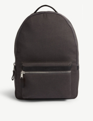 REISS Bronnman nylon backpack