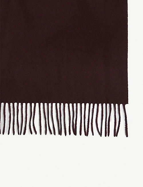 REISS Ashton wool and cashmere scarf