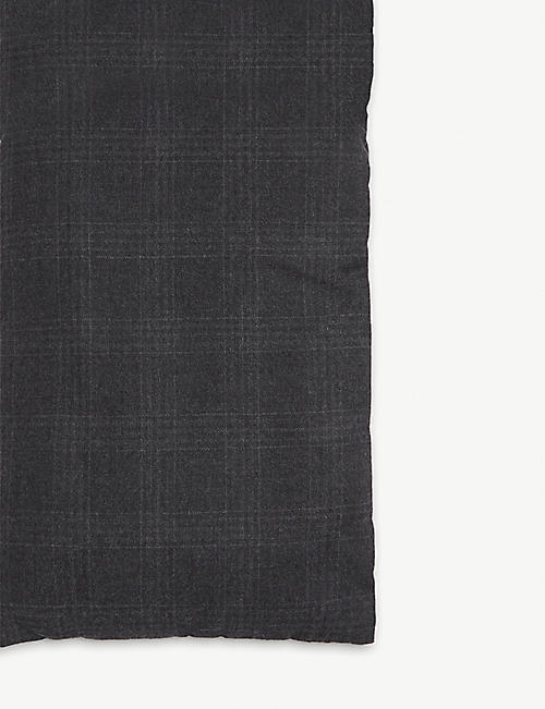 REISS Clapham quilted wool scarf