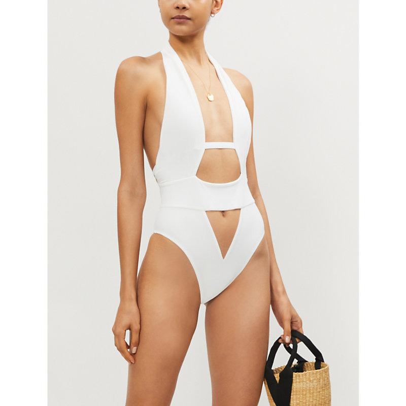 AGENT PROVOCATEUR | Anja Cutout Swimsuit | Goxip