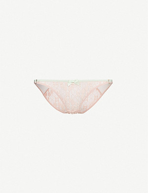 AGENT PROVOCATEUR Quin lace briefs