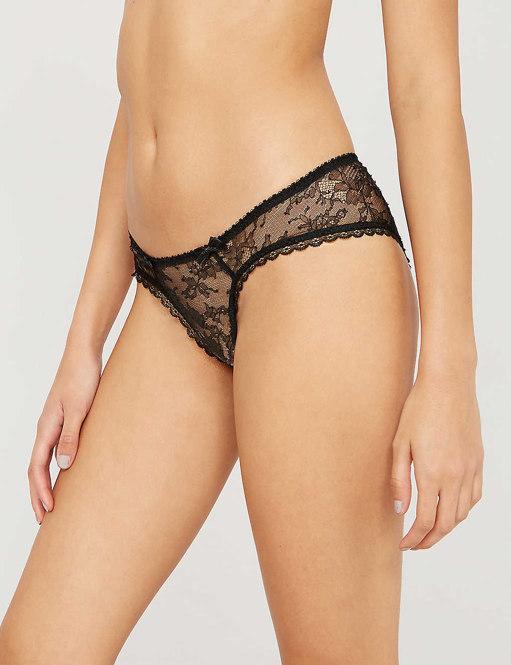 AGENT PROVOCATEUR: Hinda lace briefs