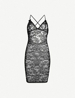 AGENT PROVOCATEUR Hinda lace slip dress