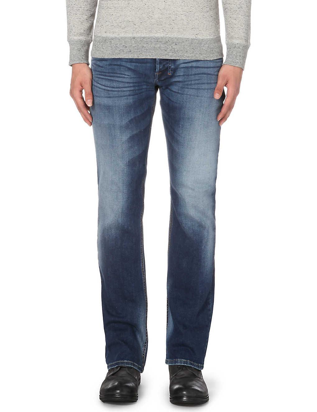 b272d8154c5 DIESEL - Zatiny 0839h regular-fit bootcut jeans l32 | Selfridges.com