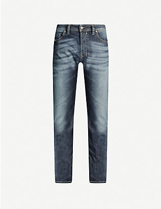 DIESEL: Safado regular-fit straight jeans