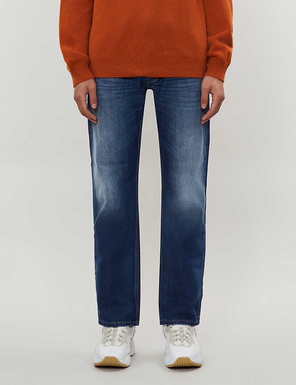 DIESEL: Larkee 08XR regular-fit straight jeans