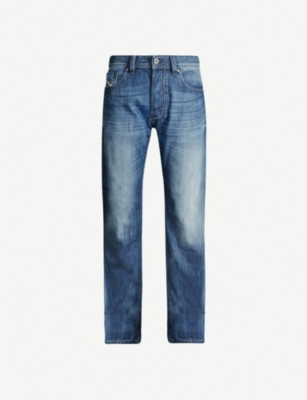 DIESEL Larkee straight faded jeans