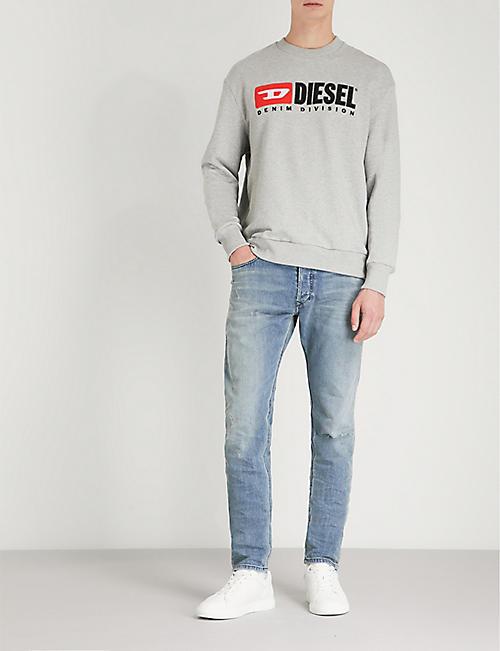 4b3071ae2d7 DIESEL - Distressed - Jeans - Clothing - Mens - Selfridges | Shop Online