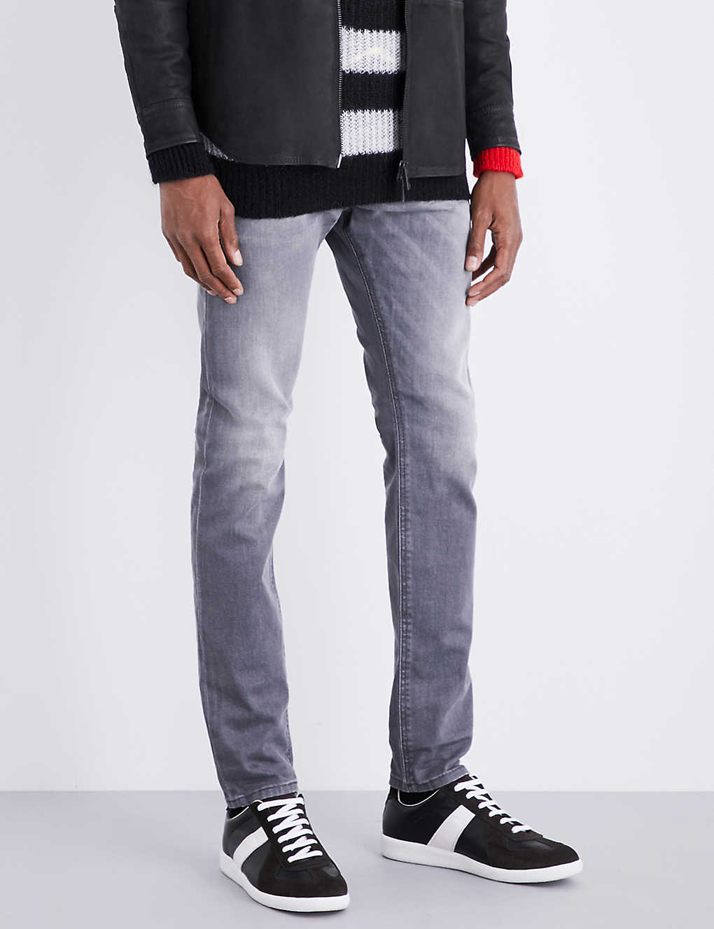 e5f710b4a3ae99 DIESEL - Tepphar slim-fit skinny jeans   Selfridges.com