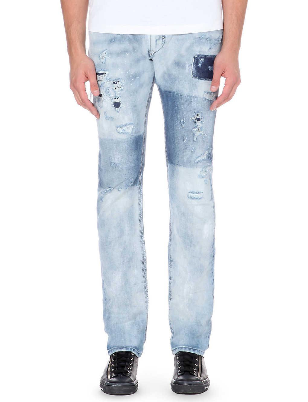 15b9eb65 DIESEL - Thavar 0840s slim-fit jeans | Selfridges.com