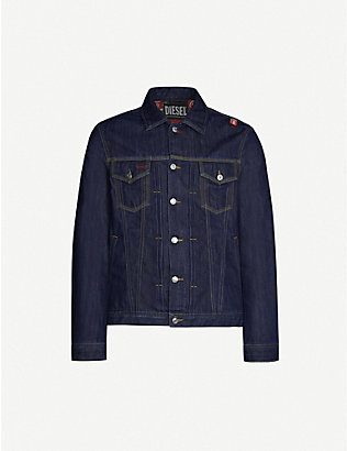DIESEL: Coca Cola denim jacket
