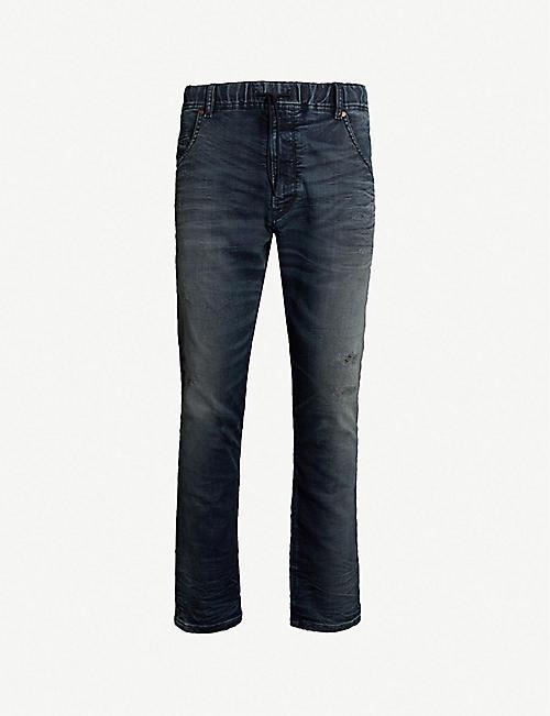 5c1931cb DIESEL Krooley R jogging-style denim jeans