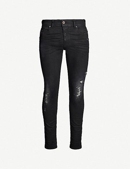 4b3071ae2d7 DIESEL - Distressed - Jeans - Clothing - Mens - Selfridges   Shop Online