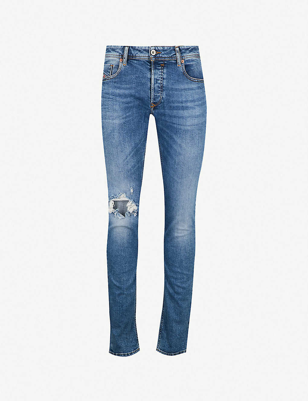 official photos 9eaac c7e93 Sleenker ripped stretch-denim jeans