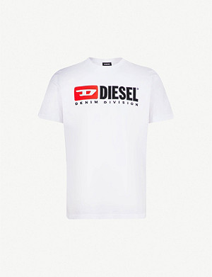 DIESEL T-Just printed cotton-jersey T-shirt