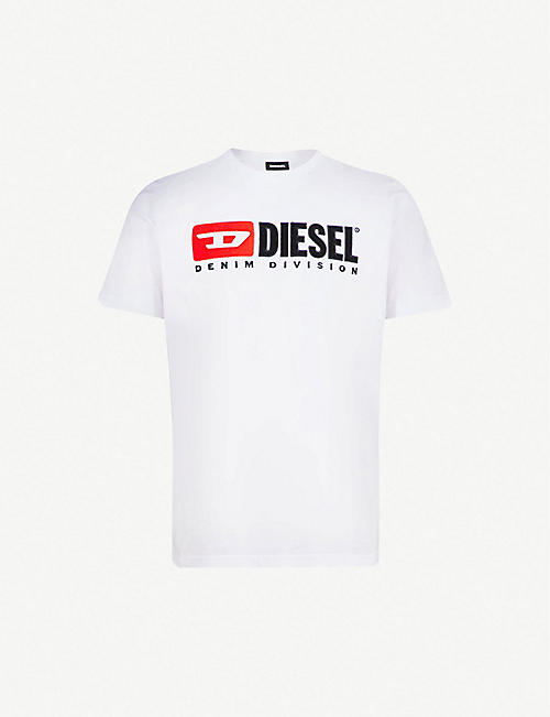 DIESEL: T-Just printed cotton-jersey T-shirt