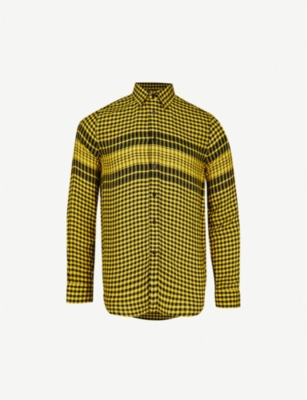 DIESEL S-Opera checked-pattern woven shirt