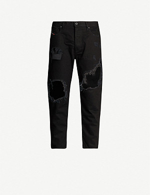 DIESEL Mharky distressed slim-fit skinny jeans