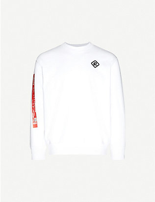 DIESEL: Coca-Cola cotton-blend jersey sweatshirt