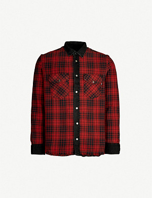 DIESEL D-Wear-C fully-reversible cotton shirt