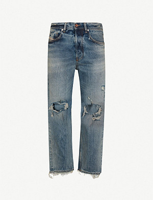 DIESEL Dagh-Xp regular-fit straight denim jeans