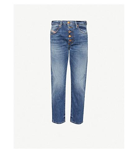 8492d4ec DIESEL - Mharky-b slim-fit skinny denim jeans | Selfridges.com