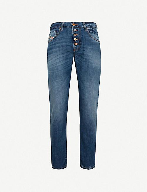 8b949c2d9e DIESEL Mharky-b slim-fit skinny denim jeans