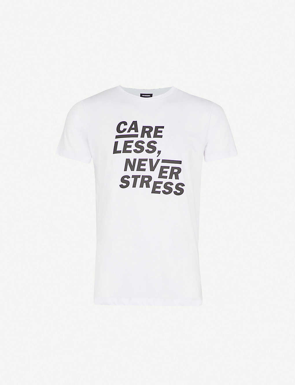 ADV-CARELESS cotton-jersey T-shirt