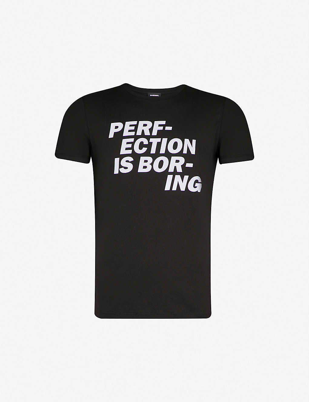 DIESEL - ADV-PERF-ECTION cotton-jersey T-shirt | Selfridges com