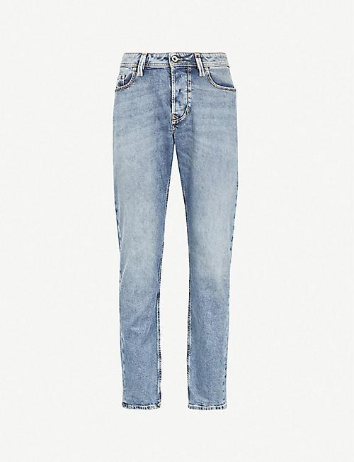 dee03f65a4 DIESEL Larkee-Beex slim-fit tapered jeans