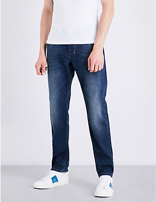 DIESEL: Larkee-beex regular-fit tapered jeans