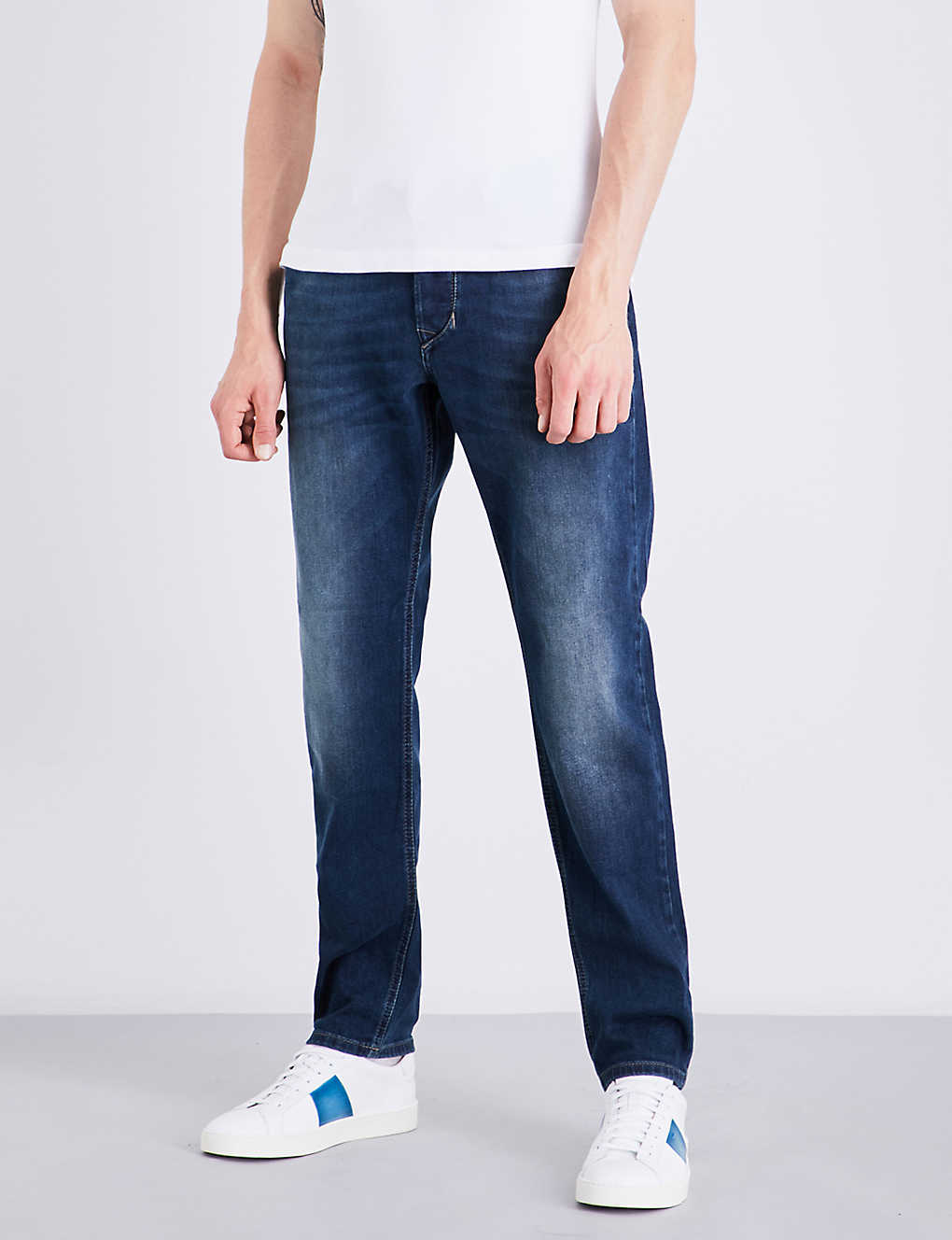 separation shoes 4f82d 6a1a5 Larkee-beex regular-fit tapered jeans