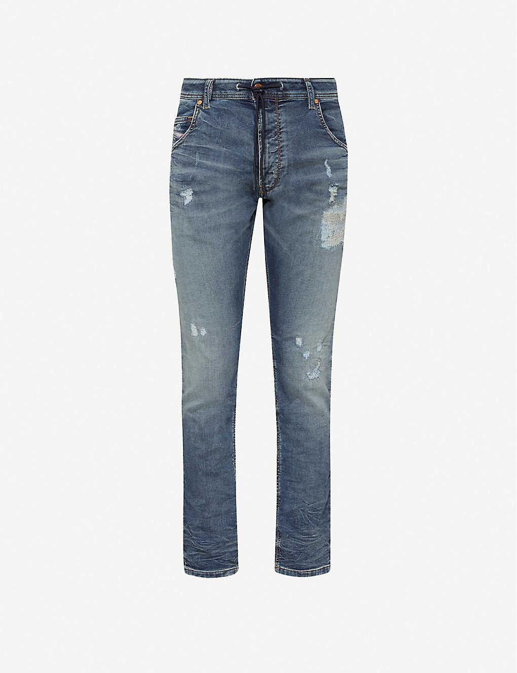 b0b35f89 DIESEL - Krooley slim-fit skinny jogg jeans | Selfridges.com