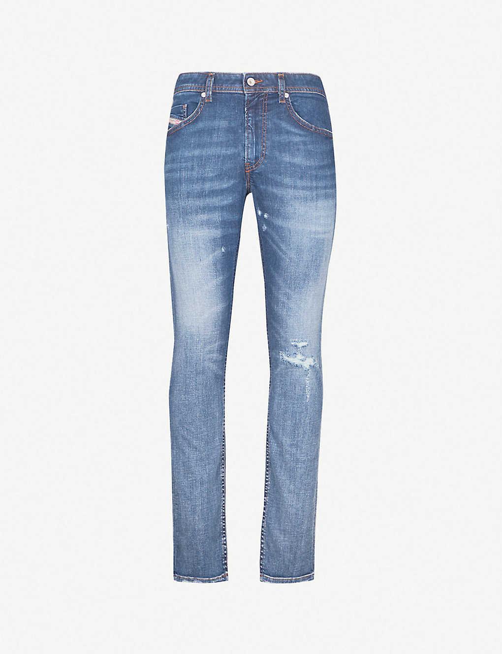 e348394d DIESEL - Thommer slim-fit tapered jeans   Selfridges.com