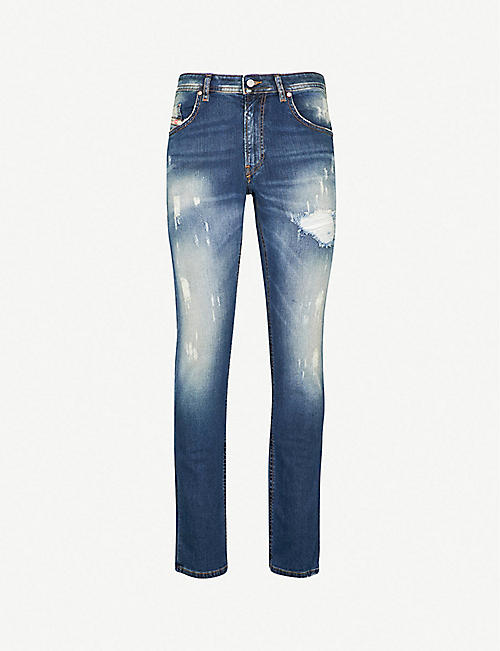 75737f8f2dc DIESEL Thommer ripped stretch-denim skinny jeans