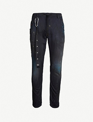 DIESEL Krooley Sweat regular-fit tapered jeans
