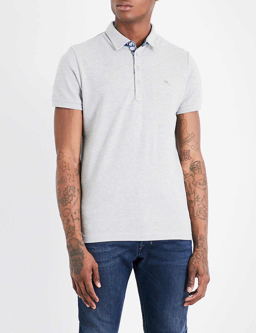 6a204426 DIESEL - T-Raga cotton-piqu? polo shirt | Selfridges.com