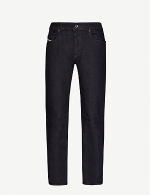 DIESEL Buster 0607A regular-fit slim-tapered jeans