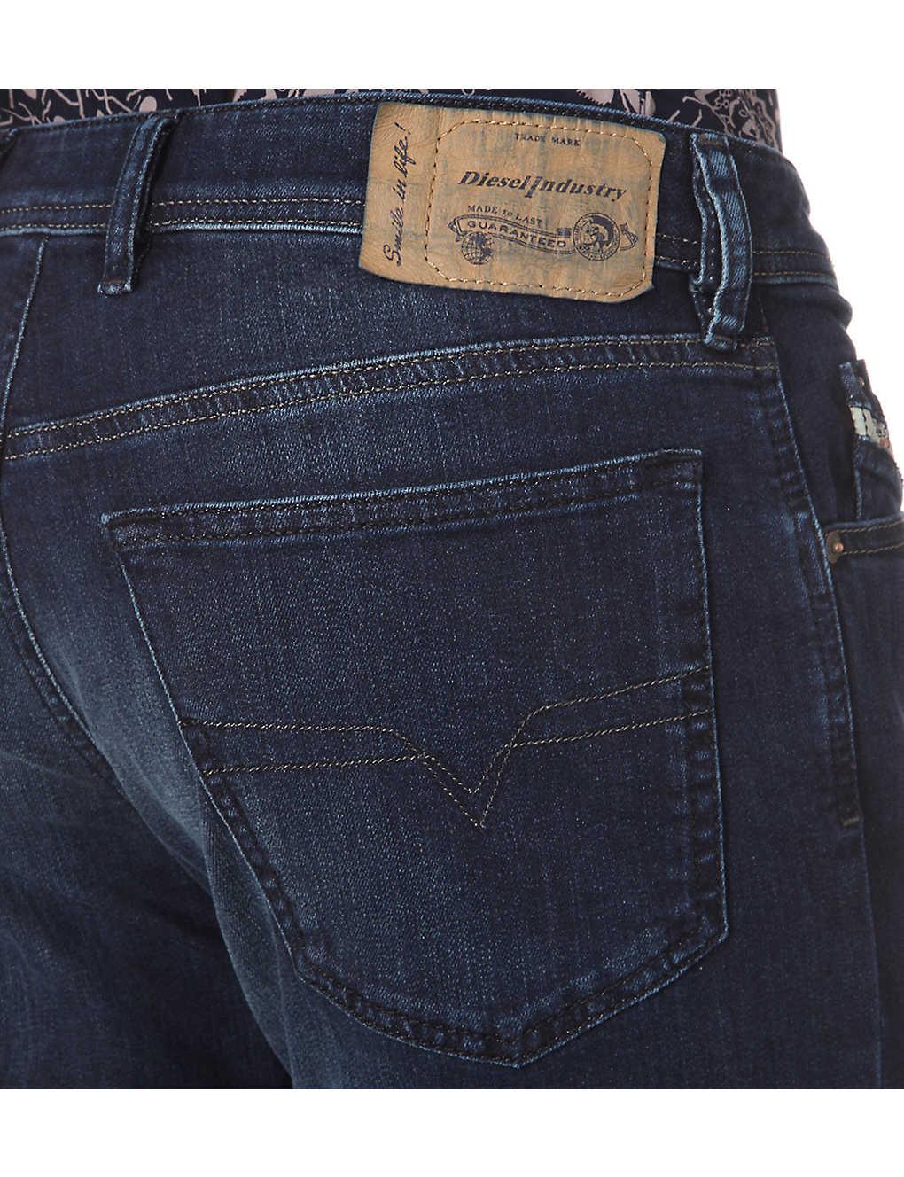 25b8bb8c ... Waykee 0814W regular-fit straight cropped jeans - Denim zoom