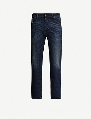 DIESEL Waykee 0814W regular-fit straight cropped jeans