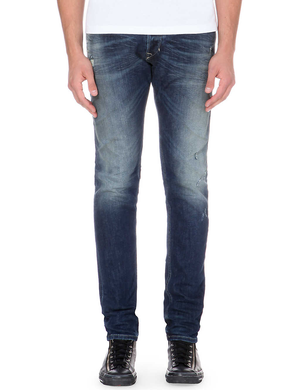 eef363f0 DIESEL - Tepphar slim-fit stretch-denim jeans   Selfridges.com