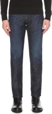 c269bd4e DIESEL - Belther 0844C slim-fit tapered jeans | Selfridges.com