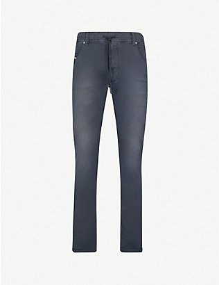 DIESEL: Krooley slim-fit tapered joggjeans