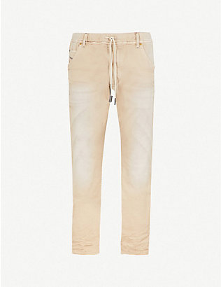 DIESEL: Krooley-ne slim-fit tapered joggjeans