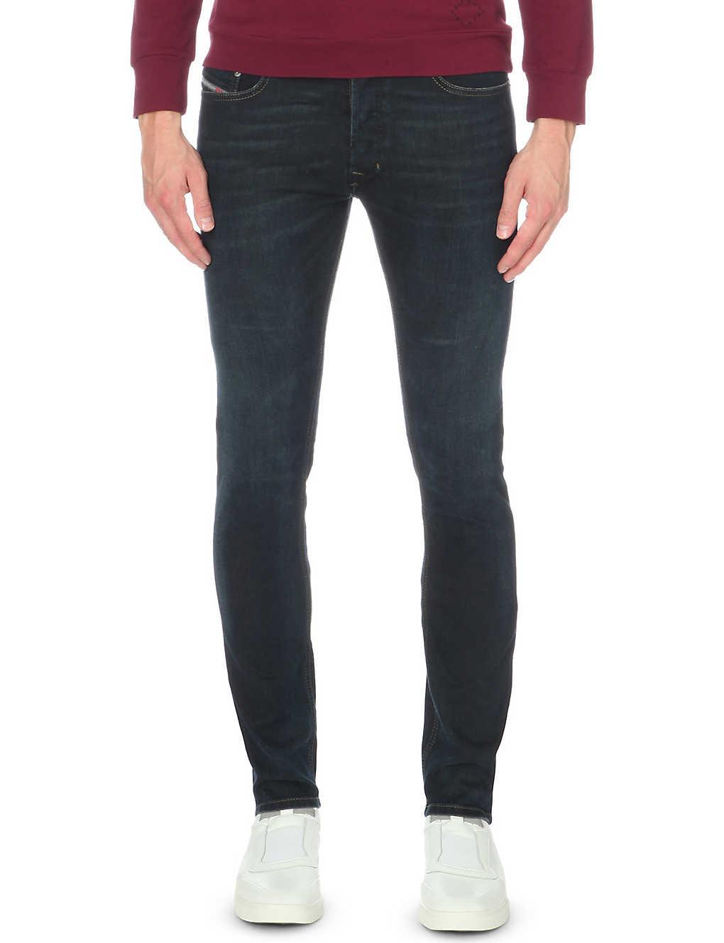 7fe31506de02fd DIESEL - Tepphar 0857z slim-fit skinny jeans   Selfridges.com