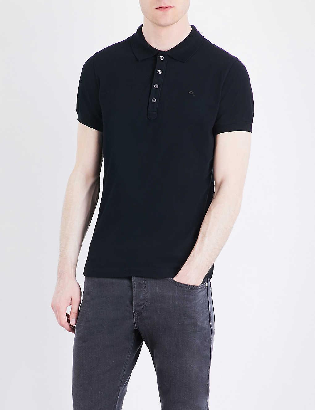 889e9266 DIESEL - T-heal stretch-cotton polo shirt | Selfridges.com