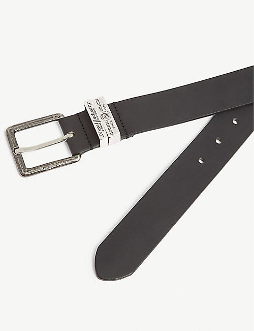 DIESEL B-Guarantee leather belt